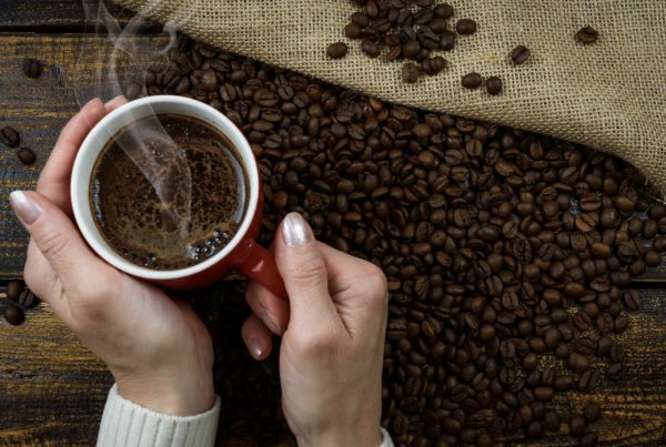 Coffee - a common source of caffeine